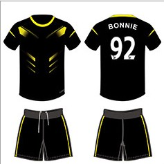 DIY Soccer Jerseys Breathable Polyester Suit Light Board Football JerseysTraining Suit Customized Special Font For Printing(China (Mainland))