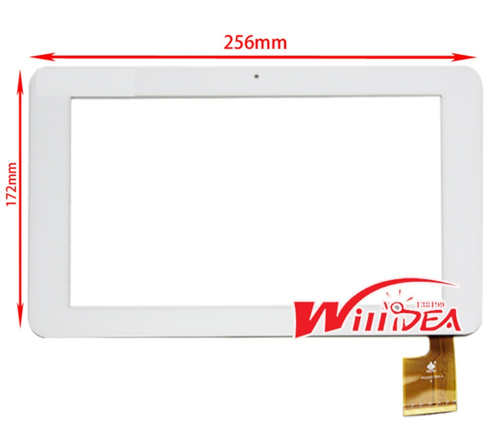 """White 10.1"""" inch for Sanei N10 AMPE A10 Quad Core TPC0323 VER1.0 Touch Screen Panel Digitizer 256*172mm Tablet PC free shipping(China (Mainland))"""