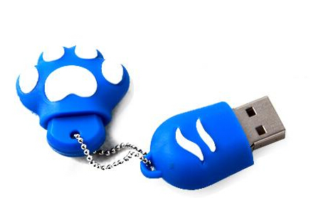 100% real capacity usb creativo NEW ice feet paw Genuine usb flash drives usb memory stick pen drive 8gb 16GB 32GB S3 AA(China (Mainland))