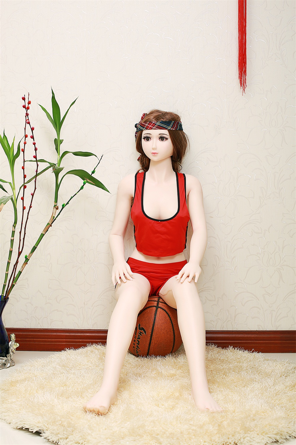 Free Shipping 135CM High Quality Full Body Silicone Sex Doll with Skeleton, Big Breast Realistic Pussy Oral Sex Toys<br><br>Aliexpress