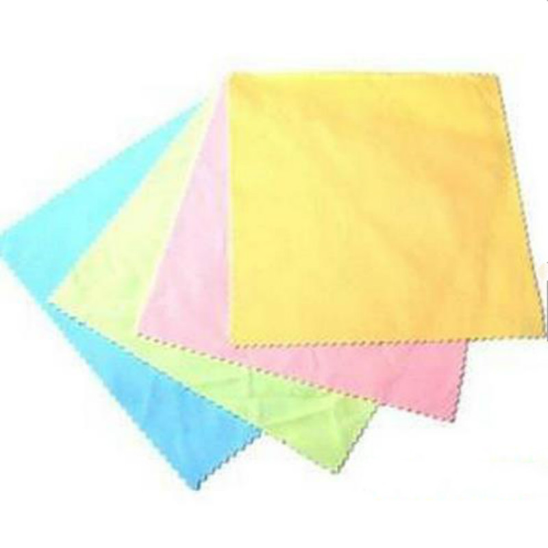 10Pcs Microfiber Phone Screen Camera Lens Glasses Square Cleaner Cleaning Cloth(China (Mainland))