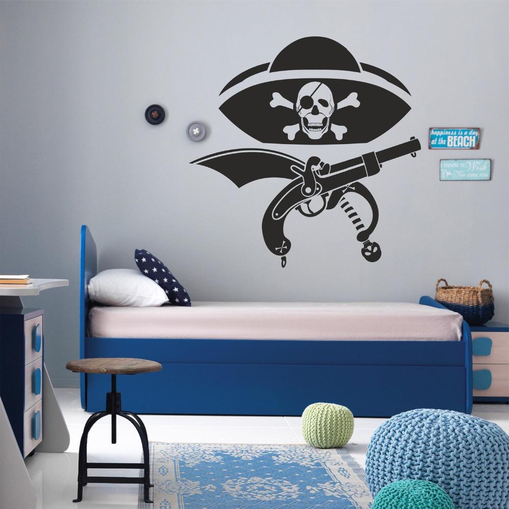 Papier Peint Chambre Garcon Pirate_051117 Emihem Com La