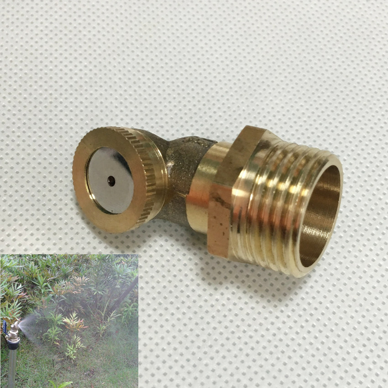 "1/2"" 1/4"" Atomizing Mist Spray Nozzle Sprinkler Irrigation Garden(China (Mainland))"