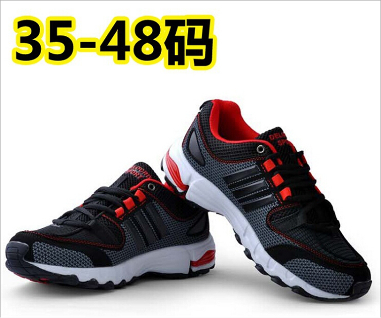 The Most Popular In 2015 Sneakers Size 36-48 Fashion Brand Summer Men Mesh Running Sports Shoes Men's Casual Comfort Men's Shoes(China (Mainland))