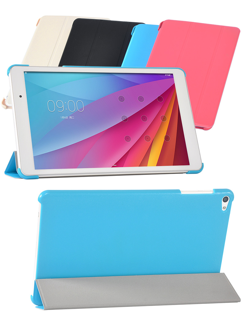 """New arrival Ultra Slim PU Leather Case Stand Cover For Huawei MediaPad T2 10.0 pro 10.1"""" & FDR-A03L Tablet + 2 x Screen Film(China (Mainland))"""