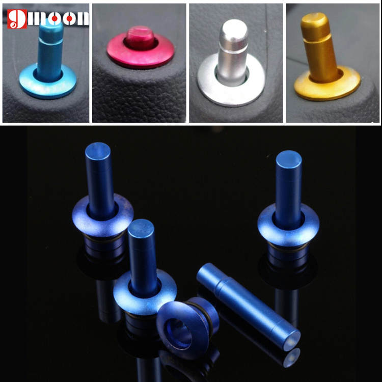 Lacetti Door Lock cover Stick Pin Cap Set+Holding 8PCS/lot South Korean style for chevrolet Chevy cruze accessories(China (Mainland))
