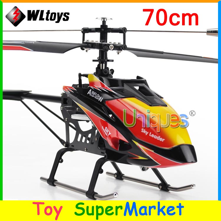 Newest WLtoys V913 Big RC Helicopter Remote Control Toys 4CH 2.4GHz Radio RTF Single Blade 2015 new Electronic Toys(China (Mainland))