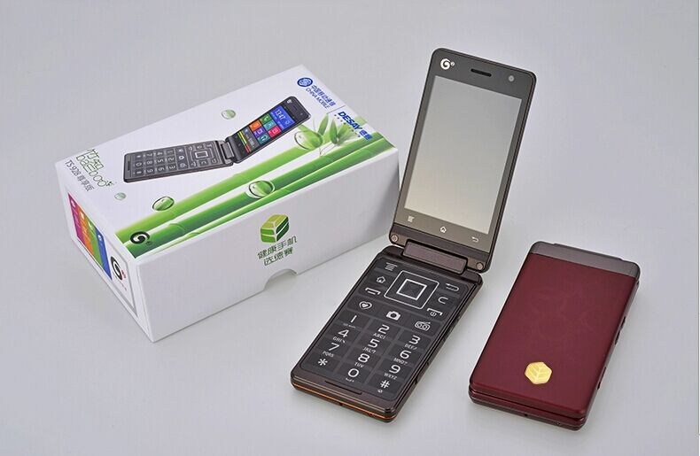 "Original Desay TS928 Flip Mobile Phone SC8810 1.0GHZ Android 4.0 3.5"" Touch Screen Dual Sim Dual Camera Cheap Price Phone(China (Mainland))"