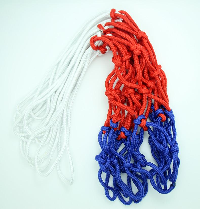 Heavy Duty Basketball Net (Red/White/Blue), Nylon Braided(China (Mainland))