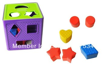Children's educational toys, geometry set