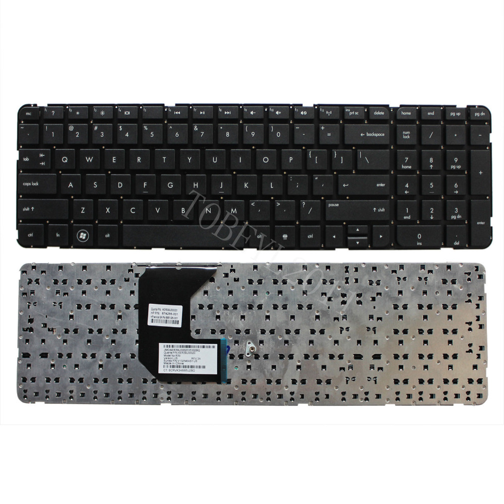 NEW Laptop US Keyboard With Frame For HP Pavilion g7-2270us g7-2273ca(China (Mainland))