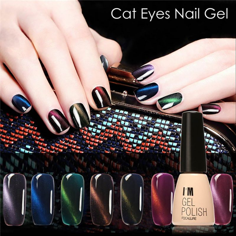 Gel Polish Gel Nail Polish Set Magnetic Nail Polish Colors Gel Luckly Varnish Lacquer Cat Eye Nail Gel 30 Colors(China (Mainland))