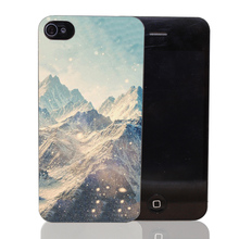 137CA Alone Winter Colorful Design Hard Transparent Case Cover iPhone 4 4s 5 5s 5c SE 6 6s Plus Thin Style - TTcase Store store