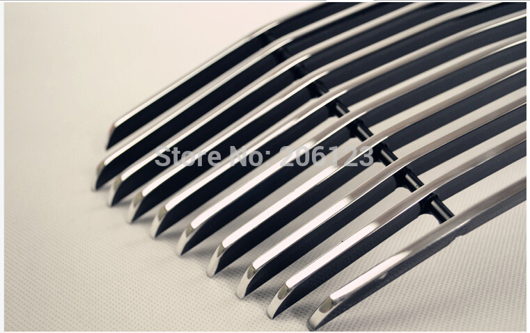 Free Shipping! Front Center Grill Grid Grille Cover Trim For 2009- 2015 for Captiva Fast air ship