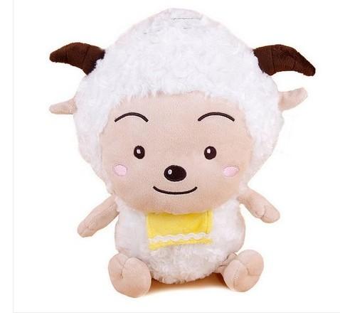stuffed animal sheep plush toy about 30cm lazy goat soft doll t5896(China (Mainland))