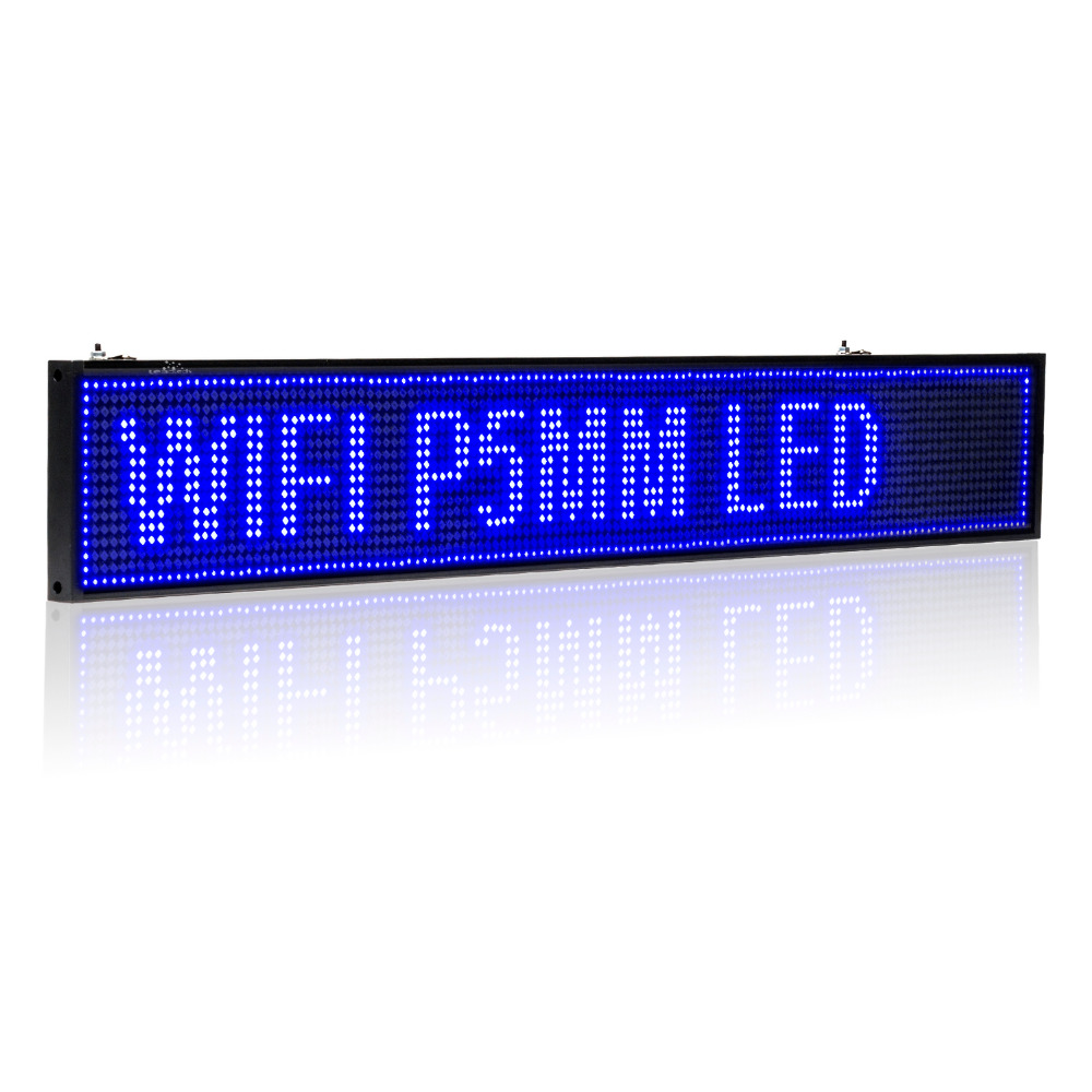 35-in Android WIFI LED Sign wireless programmable rolling information P5 Advertising Indoor led Display board(China (Mainland))