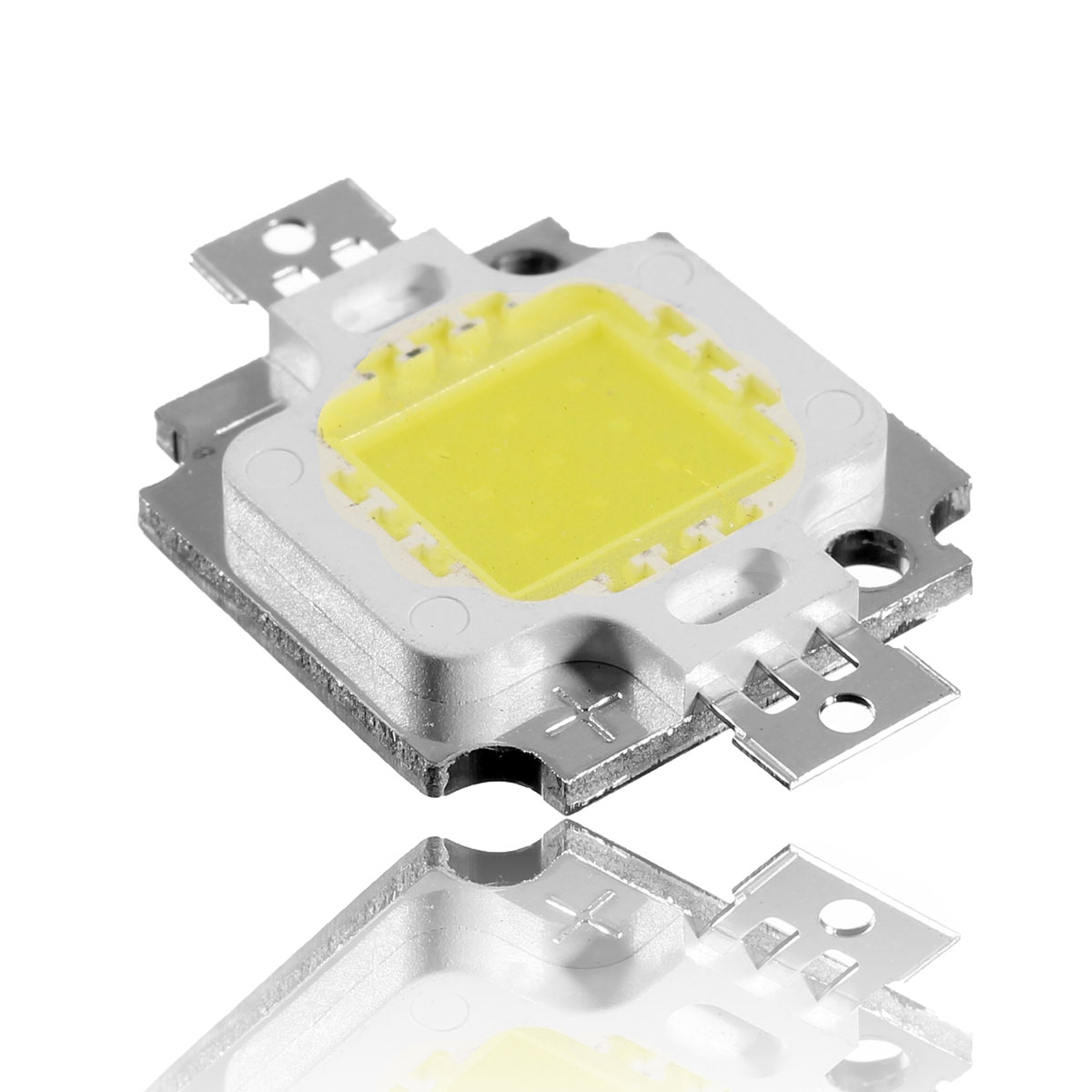 High Power 10W 900LM 5500k-20000K 300MA-900MA 9V-36V DIY square Warm Cold White LED Bulb Light super bright Lamp Beads(China (Mainland))