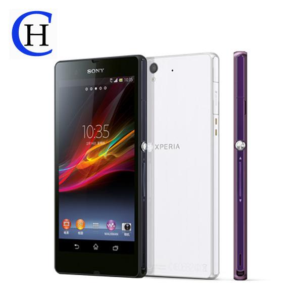 Unlocked Original Sony Xperia Z L36H C6603 Sony z 16GB Quad-core 3G GSM WIFI 5.0'&#