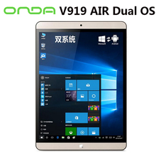 Win10 Onda V919 AIR tablet pc double OS 9.7 polegada Retina 2048 x 1536 2 GB / 32 GB / 64 GB HDMI Bluetooth double caméra(China (Mainland))