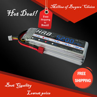 Free Shipping HRB Wholesale Price11.1V 5200mah 30C Max 50C Toys & Hobbies For Helicopters RC Models Li-polymer Battery