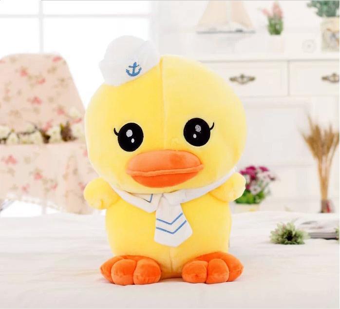 100% New Wholesale new 50cm navy rhubarb duck doll plush toys children cute doll(China (Mainland))