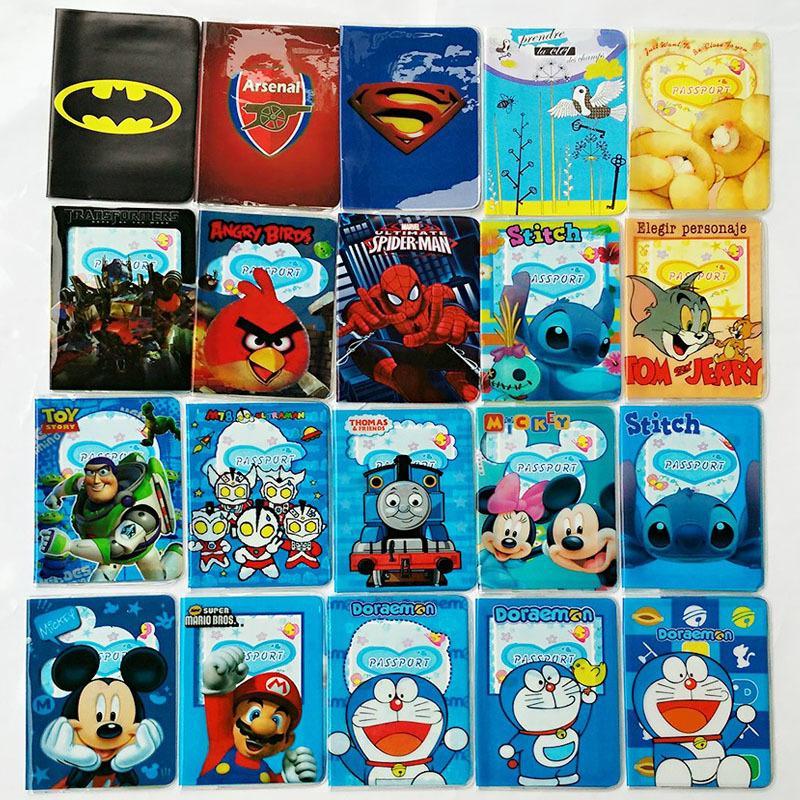Cartoon Batman Character Credit Card Holder,PVC Leather ID Card Bag,Business Porte Carte Simple,Travel Passport Cover 14*9.6CM<br><br>Aliexpress