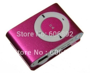 fastest shipping via EMS or DHL 20pcs/lot wholesale best quality hot sell support 1-8GB TF card MP3,fashion.mini mp3 player