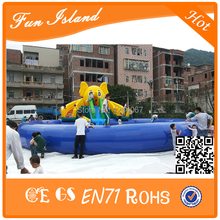 2015 Customize Cheap Inflatable Water Park and Water Slide with Swimming Pool for children factory supply(China (Mainland))