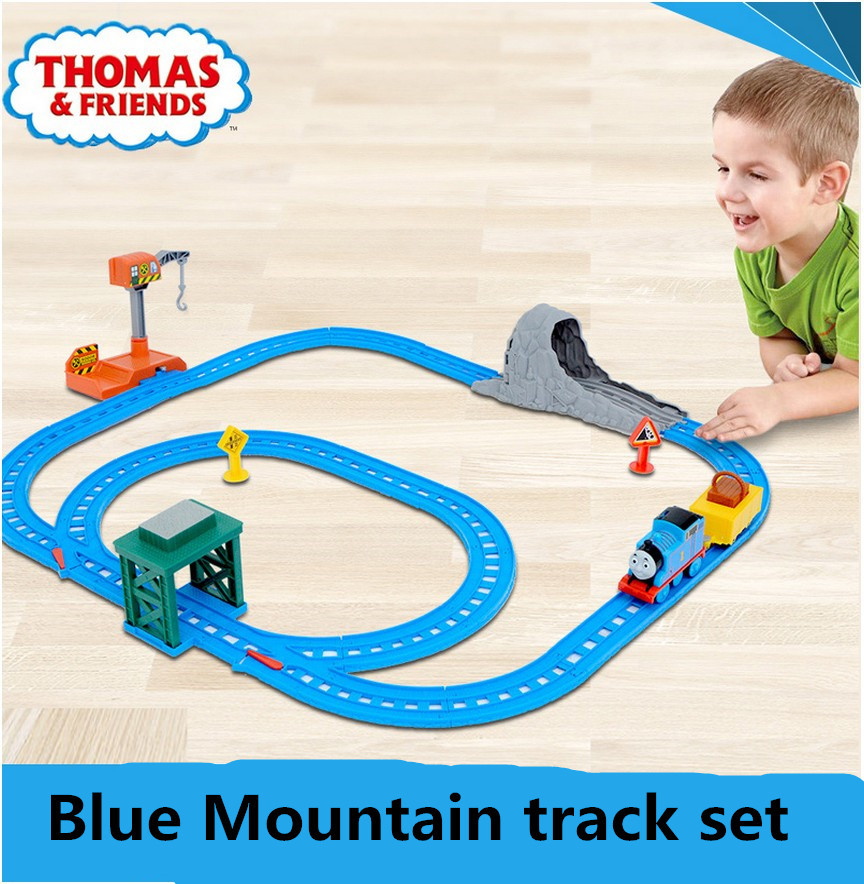 Thomas and Friends of the electric series Blue Mountain track suit BGL98 THOmas train toys newest free shipping 2015 best(China (Mainland))