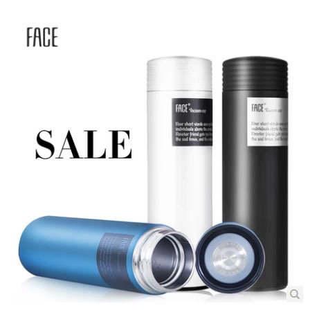 FACE Stainless Steel cup , Ms cup , Vacuum cup , portable cup , Articles for daily use(China (Mainland))