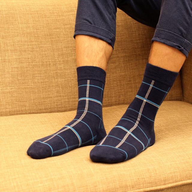 HX063 6522 Осень и Зима Новые Мужские Носки Хлопок Носки Японский Бизнес Носок