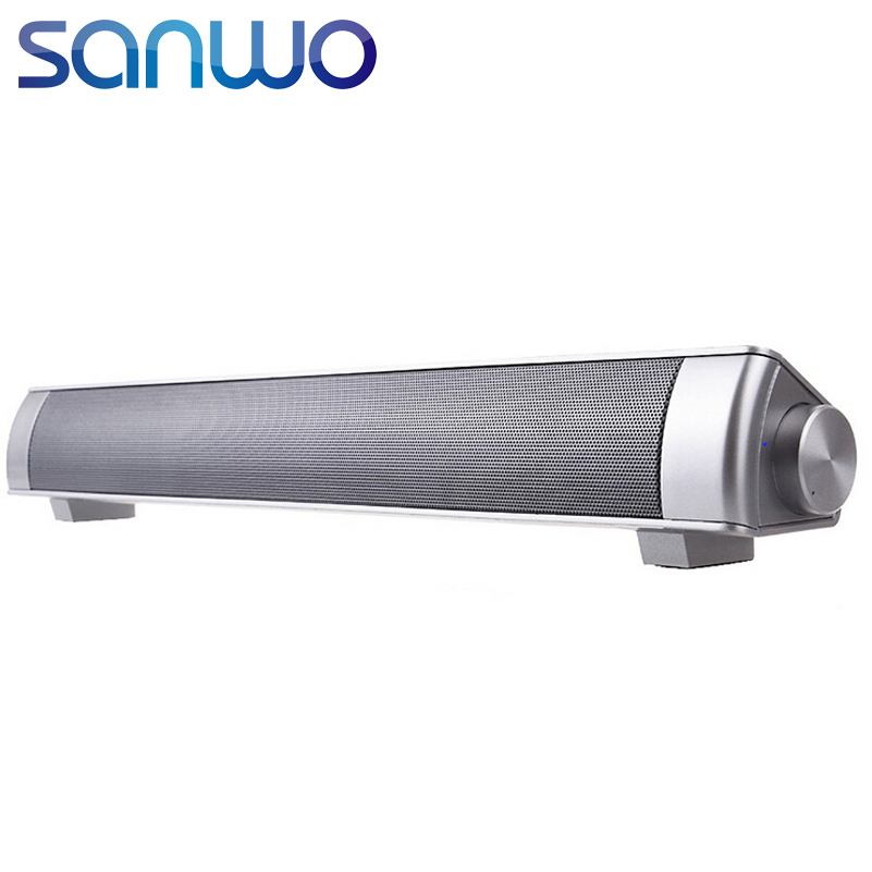 2016 Sound Bar Wireless Subwoofer 3.0 Bluetooth Speaker 10W Small TV Soundbar Bluetooth Receiver Stereo Super Bass Altavoz Ducha(China (Mainland))