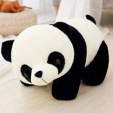 20-70cm panda boneca grande tamanho animal anime brinquedo de pelúcia bebê urso travesseiro panda pano boneca crianças brinquedos do bebê presente de aniversário para crianças(China)