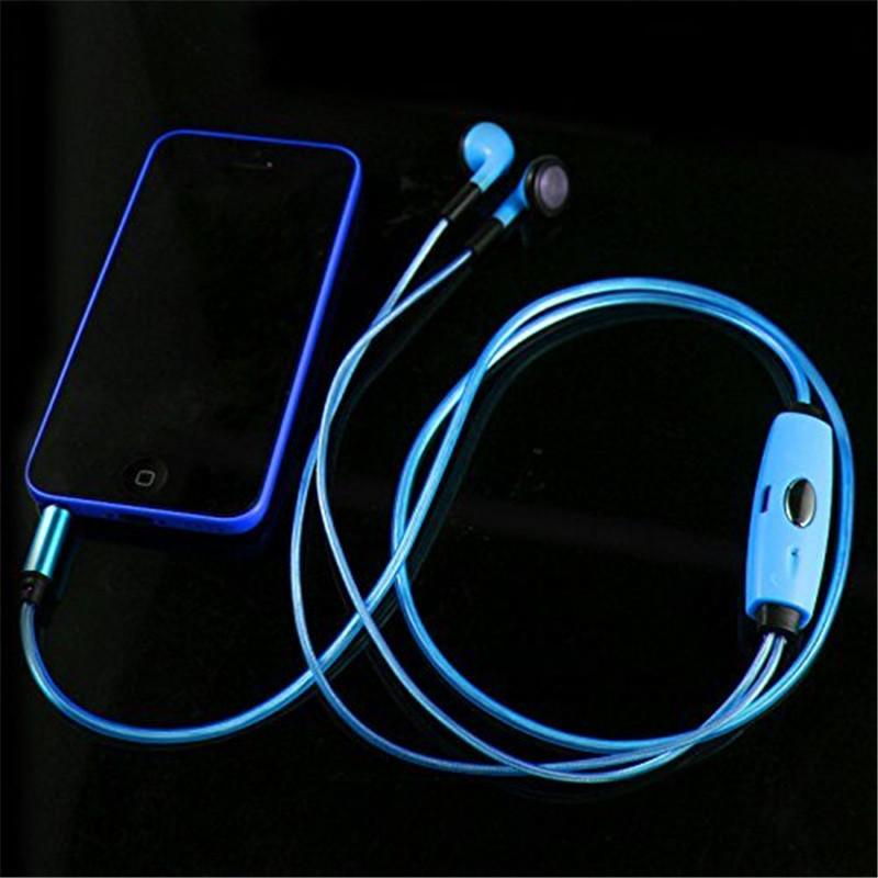Fashion font b Sport b font font b Running b font Visible Flowing LED Glow Flash