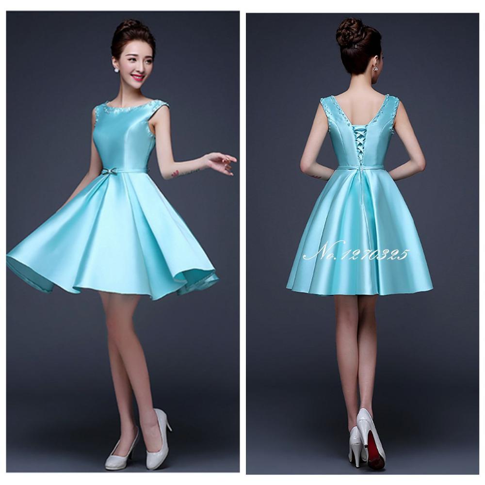 Amazing Navy Bridesmaid Dresses Short Contemporary - Wedding Ideas ...