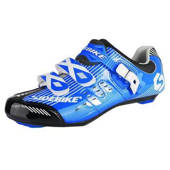 Сверхлегких Sidebike Дорожный Велосипед Обувь Non-Slip ТПУ Подошвы Велосипедные Туфли Велосипедные Автоблокировкой Обувь zapatillas ciclismo bicicleta