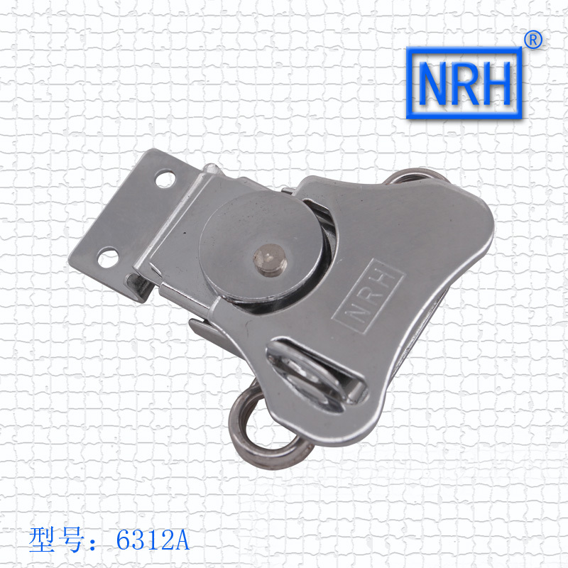 NRH 6312A cold-rolled steel Rotary butterfly turn latch Factory direct sale wing lock latch for flight case road case(China (Mainland))