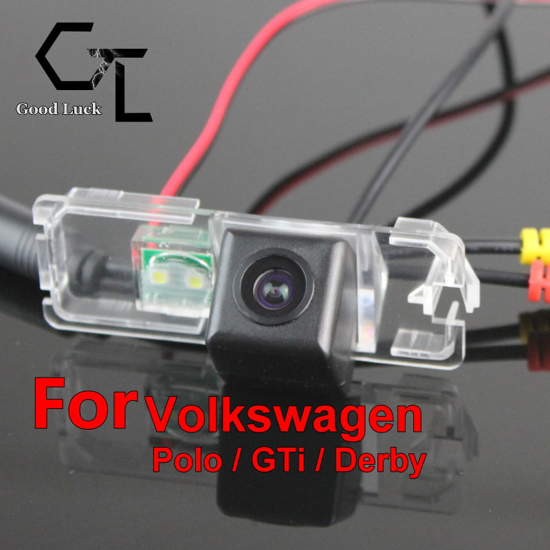 For Volkswagen VW Polo GTi Derby wireless Waterproof HD CCD Night Vision Car Rear View Camera Parking Assistance(China (Mainland))