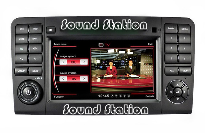For Mercedes Benz W164 X164 Touch Screen Auto Car DVD Radio Stereo GPS Navigation Sat Navi Autoradio Media Center Head Unit(China (Mainland))
