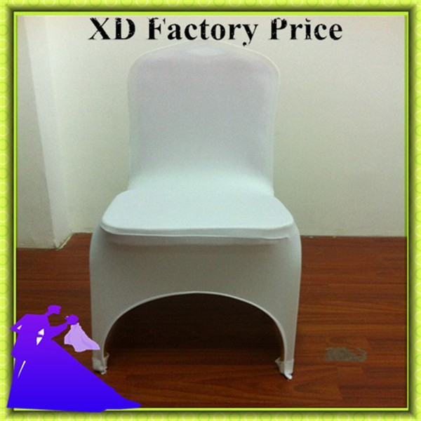 hot sale & hot sale !!! 50pcs white spandex chair covers wholesale price free shipping(China (Mainland))