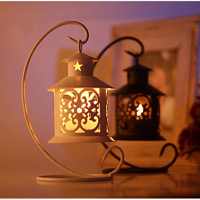 Metal Bird Cage Wedding Candle Holder Lantern Morocco Vintage Small Lanterns For Candles Decorative Cages Moroccan Lamp 004(China (Mainland))