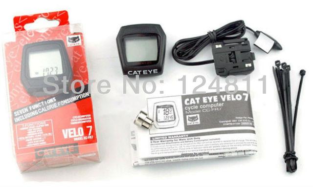 Cateye velo8/velo7 Bicycle Speedometer, Mountain Cycling Bike Stopwatch Computer Dropship