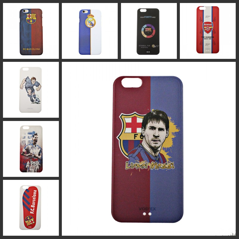 IP6 6S PSG Chelseas FC Football Club Team Barcelona Case Hard Plastic Cell Phone Cover for Apple iPhone 6 6S 6 Plus(China (Mainland))