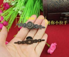 Mini long handle 64MM alloy handle drawer pulls jewelry box handle antique handle(China (Mainland))