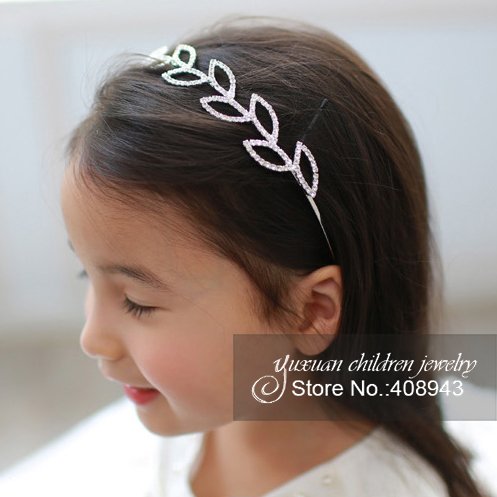 Free shipping Crystal headband Bridal Hair Accessories For girls Baby Children Wedding tiaras Pageant Rhinestone hairbands!M-277(China (Mainland))