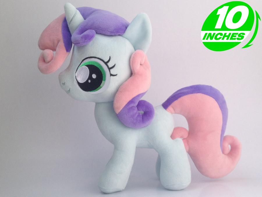 25*35cm 280g Ty Beanie Boos Plush yokai watch Doll poni abc pet Kids Toys Stuffed Animals Horse - - Sweetie Belle(China (Mainland))