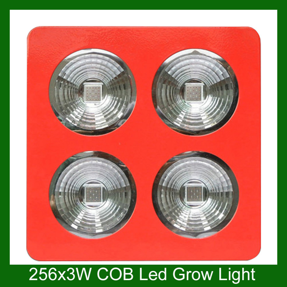 Red Color 3 Years Warranty 768w Cob Led Grow Light 3watt Chips Grow Light Kit for Indoor Greenhouse Free Shipping(China (Mainland))