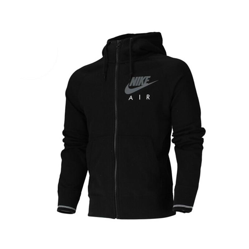 100% Original New 2015 Nike  AW77 FT FZ HOODY-AIR mens jacket 642890-010-658 Hoodie sportswear free shipping<br><br>Aliexpress