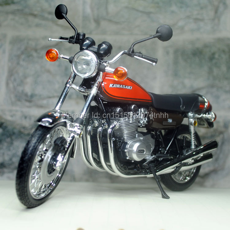 JOCITY Motorbike Model Toys 1/12 Scale 1973 Kawasaki 750 RS (Z2) Diecast Metal Motorcycle Toy New In Box For Gift/Collection(China (Mainland))