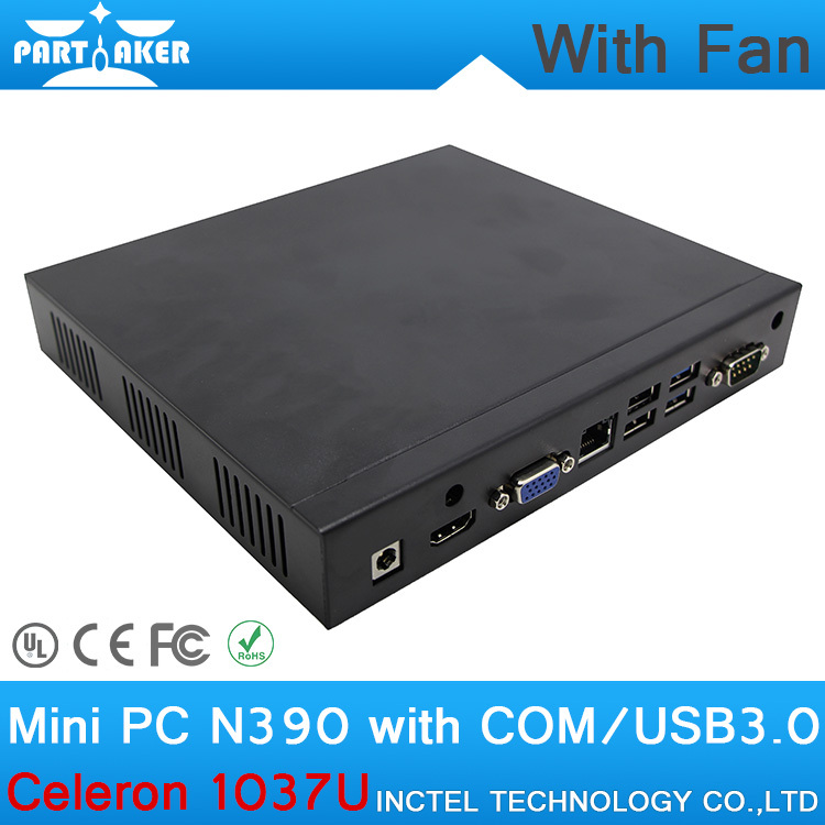 Mini PC 16G RAM Smart PC Computer Linux Mini PC SSD with Intel Celeron1037U Dual Core 1.8GHz(China (Mainland))